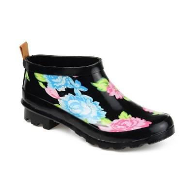 ジャーニーコレクション ブーツ&レインブーツ シューズ レディース Women's Rainer Rain boot Floral