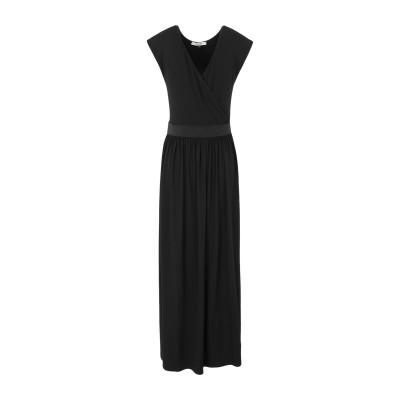 NO-NÀ 7分丈ワンピース・ドレス ブラック M レーヨン 95% / ポリウレタン 5% 7分丈ワンピース・ドレス