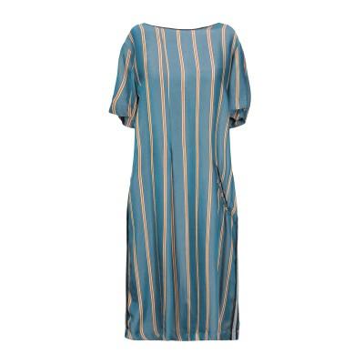 アリジ ALYSI ミニワンピース&ドレス ディープジェード 42 レーヨン 100% ミニワンピース&ドレス