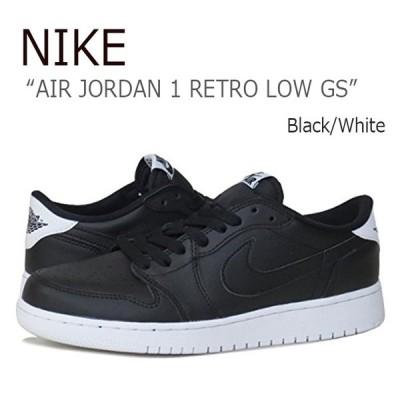 NIKE AIR JORDAN 1 RETRO LOW GS/Black/White ナイキ  ジョーダン1  709999-010 シューズ