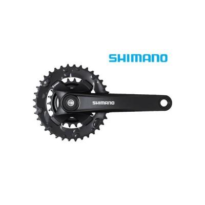 (春の応援セール)シマノ(SHIMANO) FC-MT101-B2 クランクセット 36/22T(2x9S)チェーンライン51.8/OLD148mm用