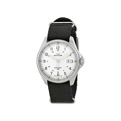 Glycine Combat 6 Vintage Automatic Silver Dial Men's Watch GL0124 並行輸入品