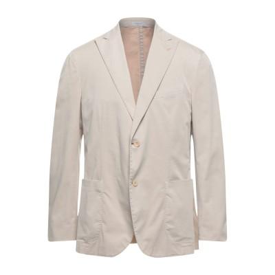 ボリオリ BOGLIOLI テーラードジャケット ベージュ 54 コットン 98% / ポリウレタン 2% テーラードジャケット