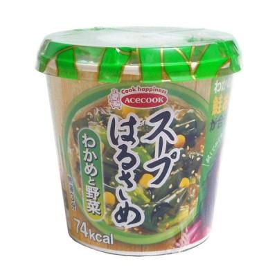 ★まとめ買い★ エースコック スープはるさめわかめと野菜21g ×6個【イージャパンモール】