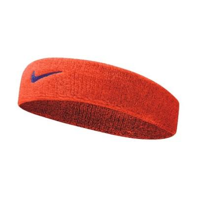ヘッドバンド ナイキ NIKE スウッシュ ヘアバンド おでこ 汗止め スポーツ アクセサリー/メンズ レディース テニス ジョギング オレンジ/BN1003-804