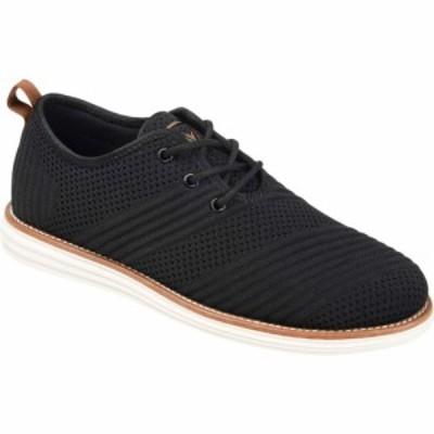 バンス Vance Co. メンズ スニーカー シューズ・靴 Novak Knit Dress Shoe Black Fabric