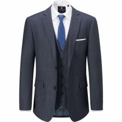 スコープス Skopes メンズ スーツ・ジャケット アウター Tailored Harcourt Suit Jacket Blue