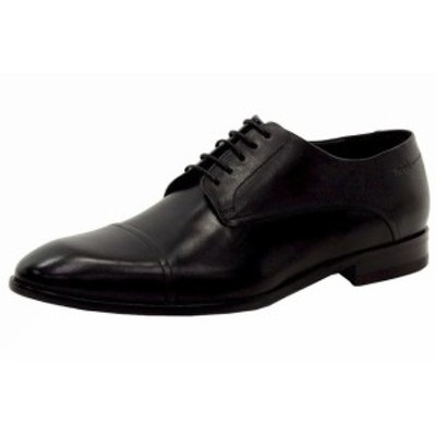 BOSS ボス ファッション ドレスシューズ Hugo Boss Mens Dressapp_Derb_Buct Black Lace-Up Loafers Shoes