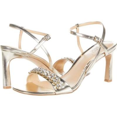 バッジェリー ミシュカ Jewel Badgley Mischka レディース サンダル・ミュール シューズ・靴 Patsy Light Gold
