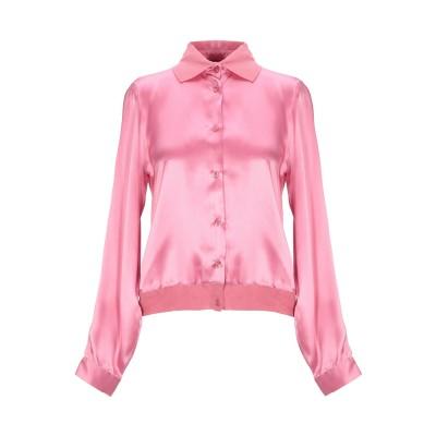 エンポリオ アルマーニ EMPORIO ARMANI シャツ ピンク 44 シルク(マルベリーシルク) 100% シャツ