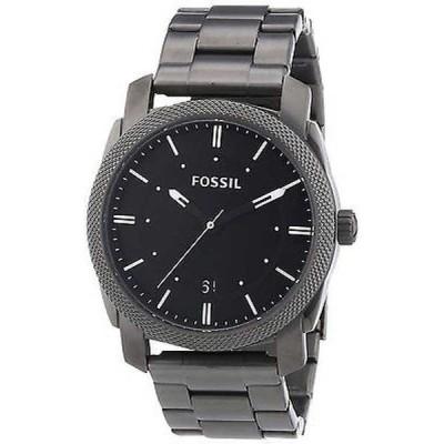 腕時計 フォッシル Fossil メンズ FS4774 'Machine' ブラック ステンレス スチール 腕時計