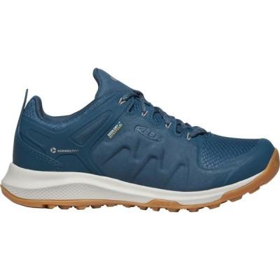 キーン Keen レディース ハイキング・登山 シューズ・靴 KEEN Explore Waterproof Hiking Shoes Blue