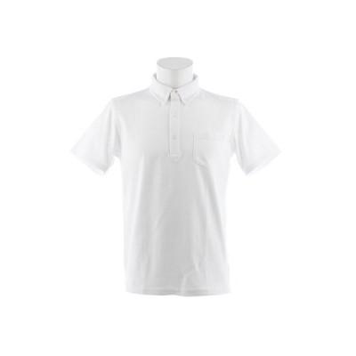クー(Coo.) ビジネス 半袖ポロシャツ 871Q8CD2045WHT オンライン価格 (メンズ)
