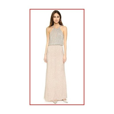 【新品】Parker Women's Marceline Gown, Blush, 12【並行輸入品】