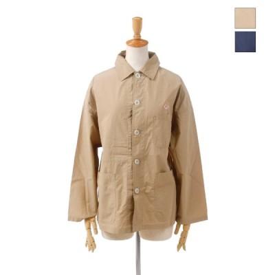 DANTON ダントン レディース コットンポプリン ワークシャツジャケット カバーオール COTTON POPLIN JD-3749MSA