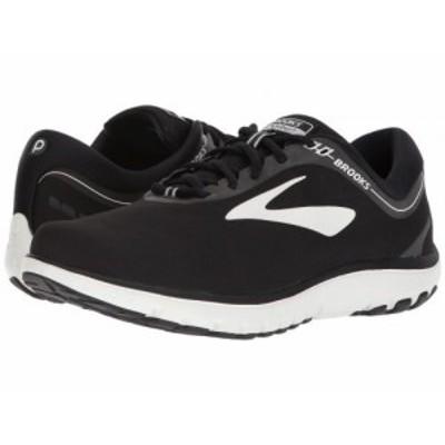 Brooks ブルックス メンズ 男性用 シューズ 靴 スニーカー 運動靴 PureFlow 7 Black/White【送料無料】