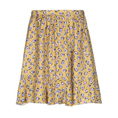 ブルーガール ブルマリン BLUGIRL BLUMARINE ひざ丈スカート オークル 40 レーヨン 65% / シルク 35% ひざ丈スカート