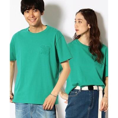 tシャツ Tシャツ エンボスロゴ Tシャツ