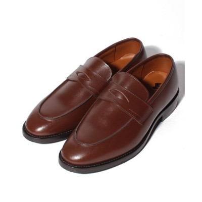 【コカ(シューズ)】 London Shoe Make ダイナイトソール コインローファー レディース ミッドブラウン UK8:26.5cm coca