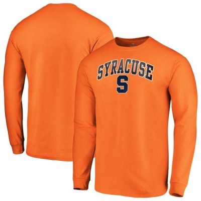 ユニセックス スポーツリーグ アメリカ大学スポーツ Syracuse Orange Fanatics Branded Campus Long Sleeve T-Shirt - Orange