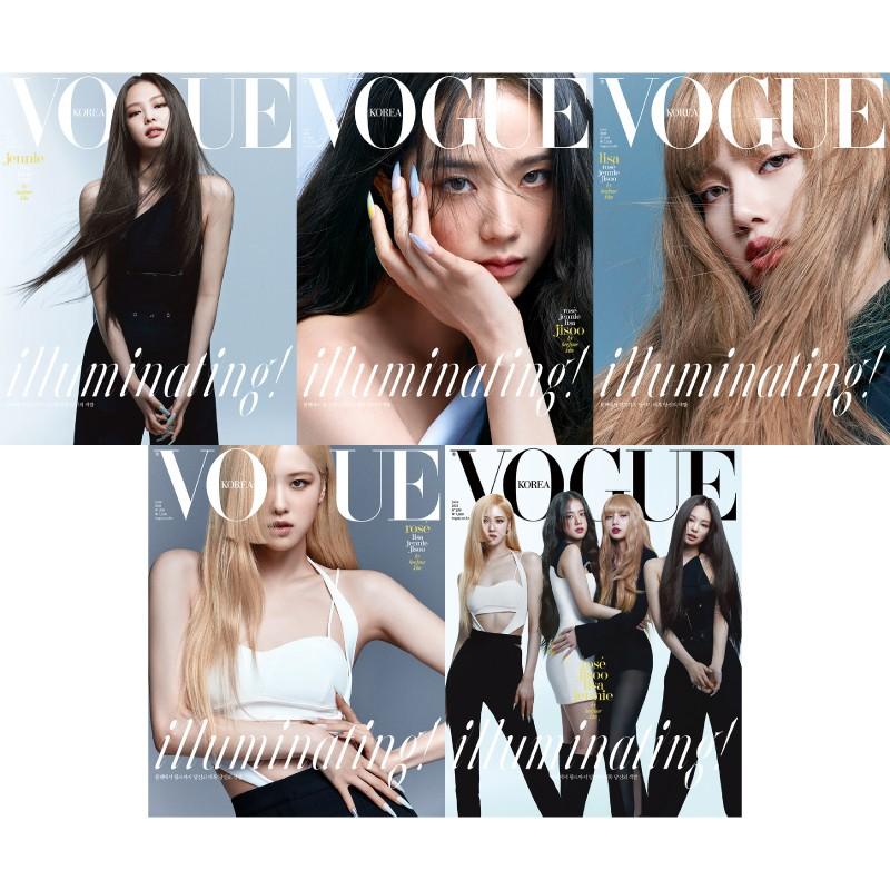 KPM-預購 VOGUE (KOREA) 6月號 2021 BLACKPINK 韓國雜誌