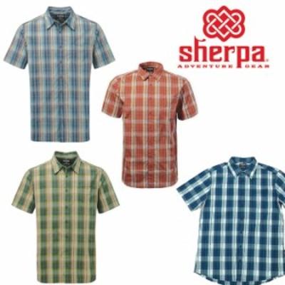 シェルパ セチシャツ SM378  メンズ/男性用 半袖シャツ