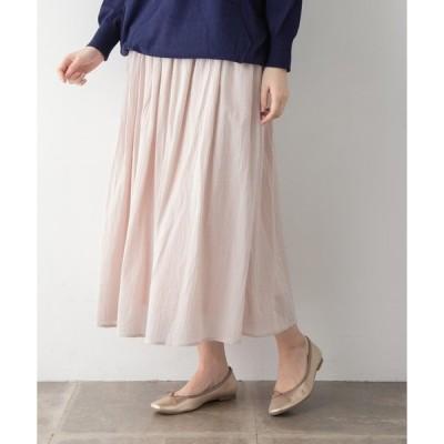 スカート コットンボイルスカート∴