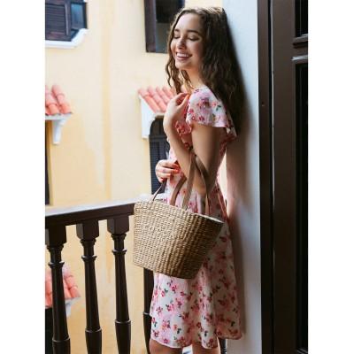 【洗える!】FLOWER SHOWER ドレス
