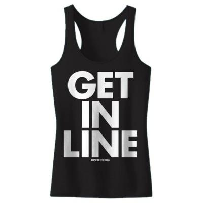 Tシャツ レディース 海外セレクション Women's DPCTED Get In Line Tank Top ブラック