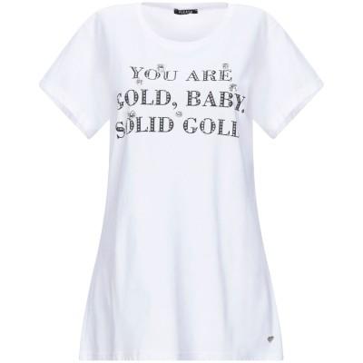 PLEASE T シャツ ホワイト S コットン 100% T シャツ