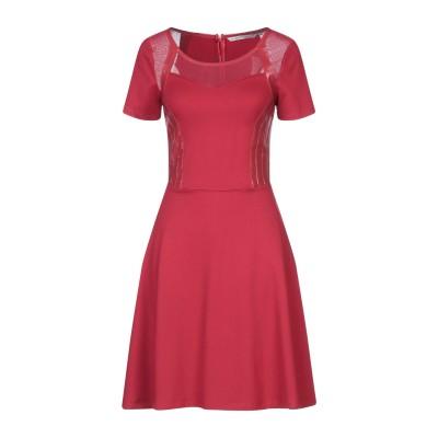 シルビアンヒーチ SILVIAN HEACH ミニワンピース&ドレス レッド XS ポリウレタン 100% / レーヨン / ナイロン / ポリウレ