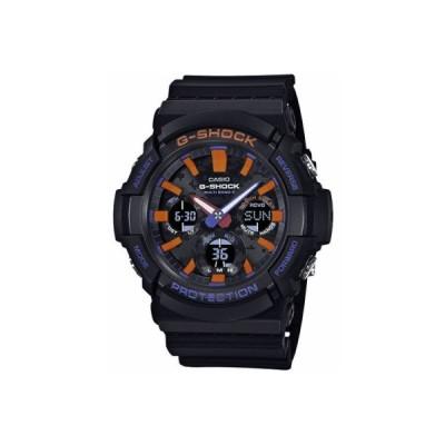 カシオ スポーツウォッチ G-SHOCK 20気圧防水 デジタル アナログ ソーラー電波 腕時計 (GAW-100CT-1AJF) ストップウォッチ LED ライト付き ランニングウォッチ