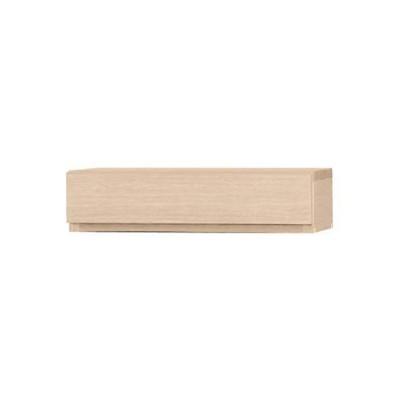 小島工芸 オープンシェルフ チェリーナチュラル サイズ:W485×D276×H120mm オプション引出 105アコード チェリーナチュラル