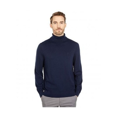 Nautica ナウチカ メンズ 男性用 ファッション セーター Navtech Knit Turtleneck Sweater - Navy