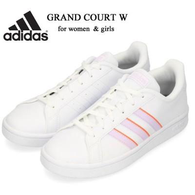 アディダス スニーカー レディース グランドコートW adidas GRANDCOURT W ローカット カジュアル シューズ EG4029 靴