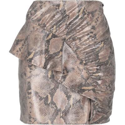 スーベニア SOUVENIR ひざ丈スカート カーキ XS ポリエステル 92% / ポリウレタン 8% ひざ丈スカート