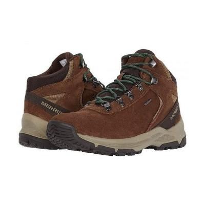 Merrell メレル メンズ 男性用 シューズ 靴 ブーツ ハイキングブーツ Erie Mid Waterproof - Earth