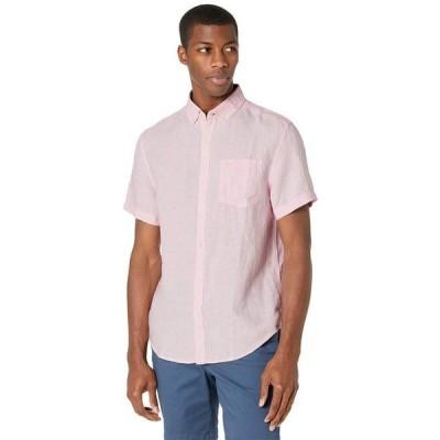 オリジナルペンギン メンズ シャツ トップス Short Sleeve Linen Shirt