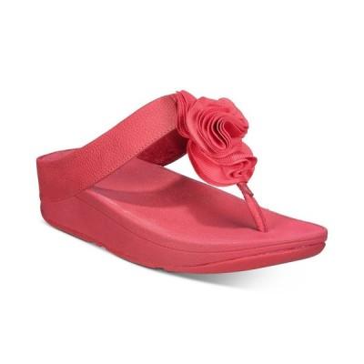 フィットフロップ FitFlop レディース サンダル・ミュール シューズ・靴 Florrie Toe-Post Sandals Red