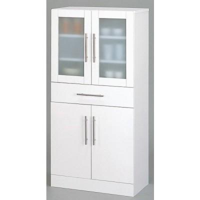 ミストガラスの食器棚 W60××D38×H120 カトレア