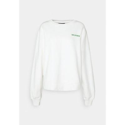 ハン コペンハーゲン パーカー・スウェットシャツ レディース アウター BULKY CREW - Sweatshirt - offwhite