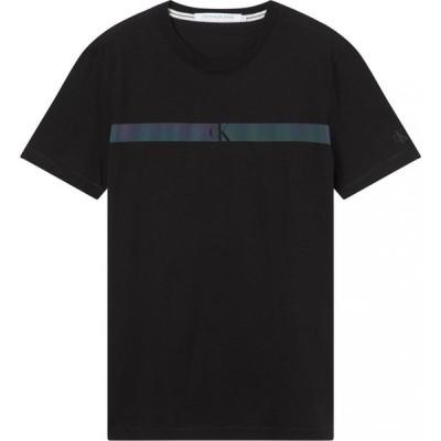 カルバンクライン Calvin Klein Jeans メンズ Tシャツ トップス Horizon Pan T Shirt CK Black