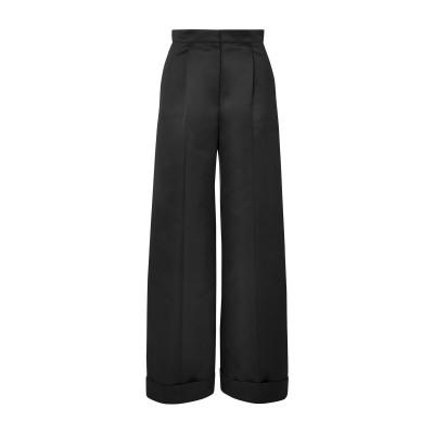 LES HÉROÏNES by VANESSA COCCHIARO パンツ ブラック 36 ポリエステル 100% パンツ