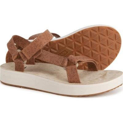 テバ Teva レディース サンダル・ミュール シューズ・靴 universal star sandals - leather Chipmunk
