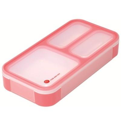 薄型弁当箱 フードマン ミニ チェリーピンク 4571347175042 dsk.pig シービージャパン CB JAPAN CP