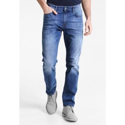 ピアワン メンズ ファッション Relaxed fit jeans - mid blue