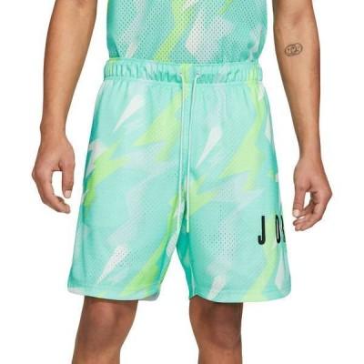 ジョーダン メンズ ハーフパンツ・ショーツ ボトムス Nike Men's Jordan Jumpman Air Printed Mesh Shorts