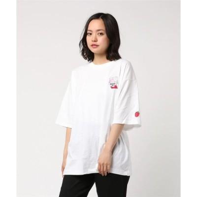 tシャツ Tシャツ 【SIX MOUSE】SEOUL MILK刺繍Tee