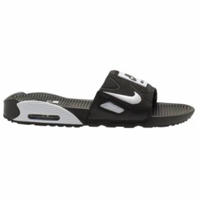 ナイキ メンズ Nike Air Max 90 Slide サンダル スリッパ Black/White