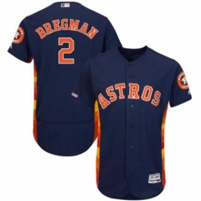 Majestic マジェスティック スポーツ用品  Majestic Alex Bregman Houston Astros Navy Alternate Flex Base Authentic Co